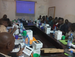 Water quality testing training in kayes